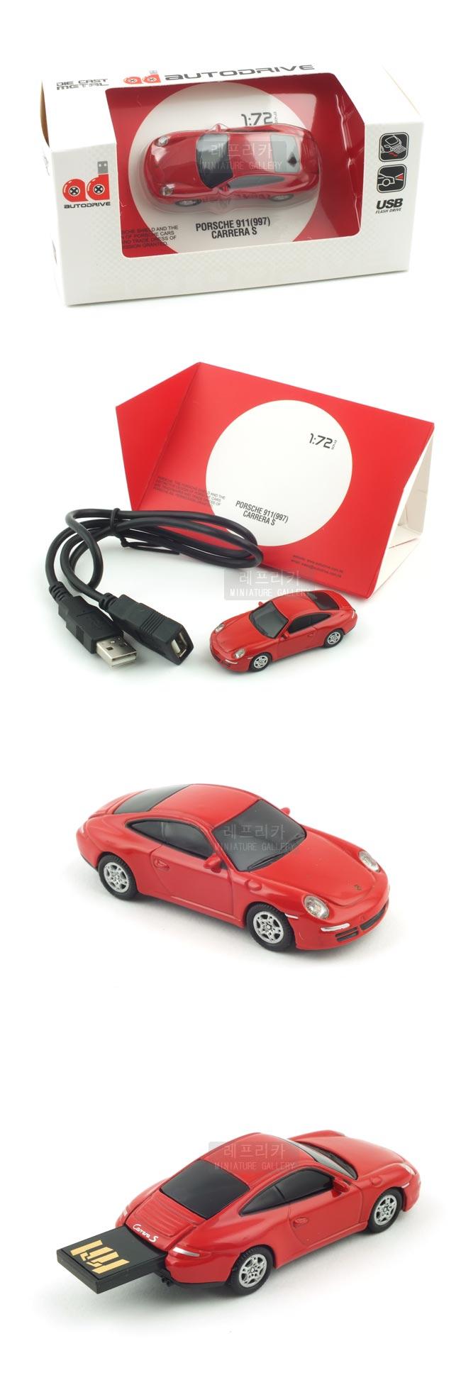 포르쉐 911 까레라 USB 16GB (WE002077RE) - 레프리카, 70,000원, 캐릭터형 USB 메모리, USB 16G